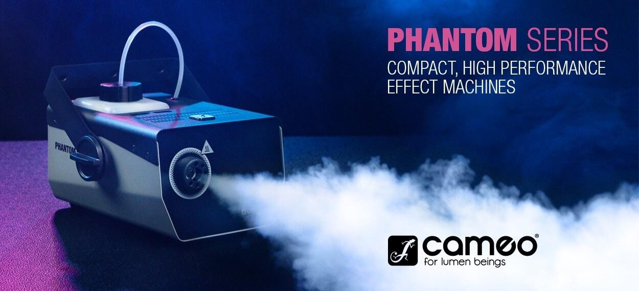 CAMEO FOG MACHINE AND FLUID - Μηχανές καπνού και υγρά για μηχανές