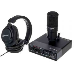 steinberg-STEINBERG_UR_22c_Recording_Pack sound card microphone headphones
