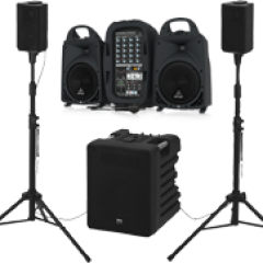 Compact Portable PA Systems