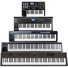 MIDI KEYBOARDS/CONTROLLERS/INTERFACES