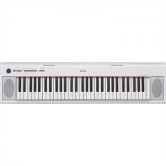 ΥΑΜΑΗΑ NP-12 Piaggero Αρμόνιο/Keyboard Λευκό ( Piano - Style ) - Yamaha