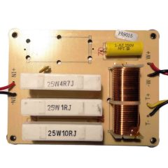 sec151 2way crossover passive 500w 4khz