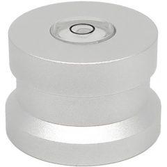207672 silver alu single puck asp3 dynavox adapter 45rpm