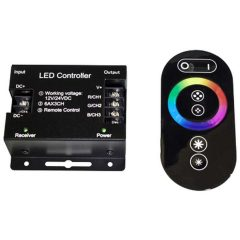 led rgb controller touch wireless