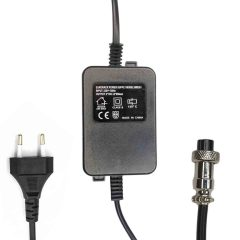mxeu1 ac adaptor 18vac 650ma power supply