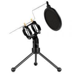 qm002-shock-mount-microphone-mic-stand-pop-filter-artsound